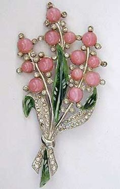 Chanel Novelty Pink Moonstone Floral Brooch - Garden Party Collection Vintage Jewelry