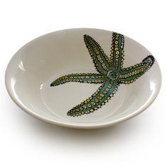 Neptune Salad Bowl (Jersey Pottery)