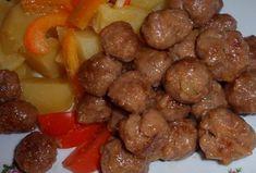Smažené masové kuličky-Ča wan-c´ Sausage, Menu, Ethnic Recipes, Vietnam, Cartoon, Asia, Menu Board Design, Sausages