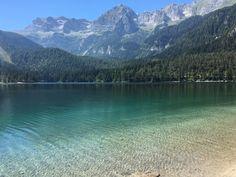 **Lago di Tovel (beautiful alpine lake) - Tuenno, Italy