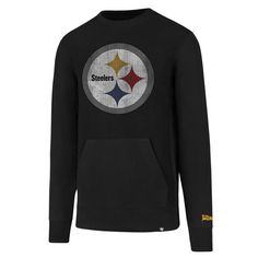 Pittsburgh Steelers '47 Brand Reverse French Terry Crew