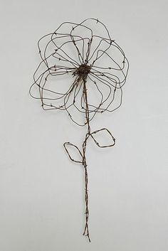 Fleur fil de fer