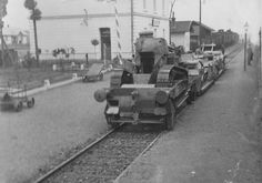 Draisines of Polish armoured trains Nr. 55