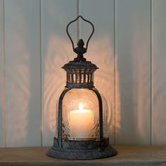 Fleur De Lys Garden Candle Lantern   Autumn Evenings