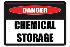 Chemical Storage Signs & Chemical Hazard Signs