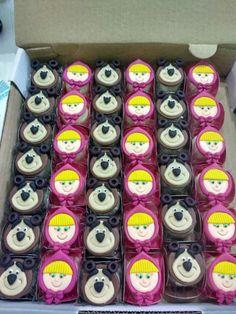 Happy Birthday Maria, 3rd Birthday, Marsha And The Bear, Dulce Candy, Bear Party, Cake Designs, Chocolates, Decoration, Ideas