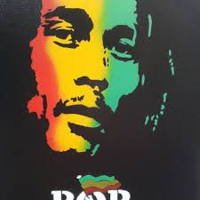 Image result for green yellow red bob marley