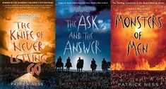 Chaos Walking (series) by Patrick Ness | I finished Monsters of Men a few weeks ago. Fantastic, fast-paced, intriguing read. I would highly recommend!