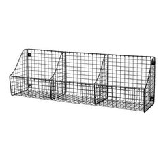You'll love the Wall Mount Triple Storage Basket at Wayfair - Great Deals on all Furniture  products with Free Shipping on most stuff, even the big stuff.