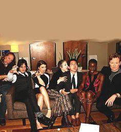 Greg Nicotero, Norman Reedus, Lauren Cohan, Melissa McBride, Steven Yeun, and Danai Gurira take over Conan(Feb. 6, 2014)