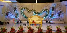 backdrop decoration coimbatore B Reception Stage Decor, Wedding Backdrop Design, Wedding Stage Design, Wedding Reception Backdrop, Wedding Set, Engagement Stage Decoration, Wedding Hall Decorations, Marriage Decoration, Backdrop Decorations