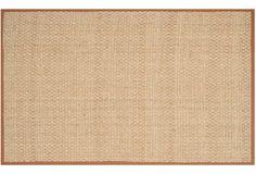 Malcolm Sea-Grass Rug, Brown