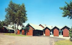 Cragun's Lodge on Gull Lake near Brainerd, Minnesota Postcard