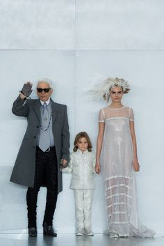 cara delevingne  karl lagerfeld @ chanel SS 14