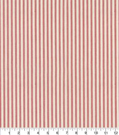 Waverly® Upholstery Fabric 55'' - Americana Classic Ticking