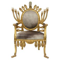 Pedro Friedeberg Armchair | From a unique collection of antique and modern chairs at https://www.1stdibs.com/furniture/seating/chairs/
