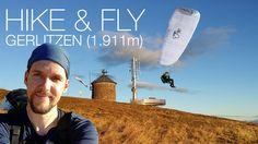 Hike & Fly Gerlitzen (1.911m) - über Hüttersteig Paragliding, All Over The World, Surfboard, Hiking, Sunset, Walks, Surfboards, Trekking, Hill Walking