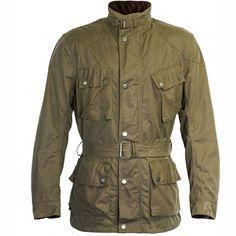 28b86e980f Richa Bonneville Wax Jacket WP - Green || FREE UK Delivery | FREE UK Returns
