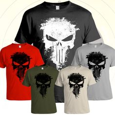 Hey, I found this really awesome Etsy listing at https://www.etsy.com/listing/118616511/punisher-distressed-paint-splatter-t