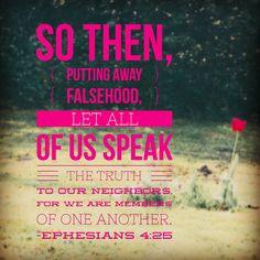Ephesians 4:25