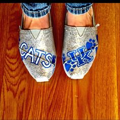 Even if  you're not a UK fan, super fun cute!!! Could totally be done NDA style!!