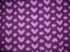 Ravelry: Sweetheart Ripple pattern by Kim Guzman