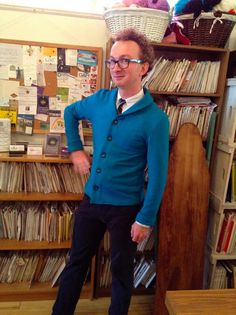 Jenny from The Makehouse in Victoria made this dapper Newcastle for her husband.  Awesome colour!