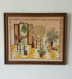 Wicker Wall Basket Hanging Woven Round Decor Rattan Art Catchall Dish Papago Pinterest