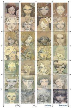 Girls of Audrey Kawasaki