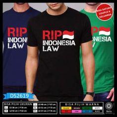 Jual Kaos Rip Indonesia Law