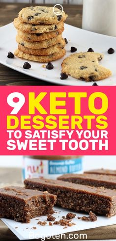 For those of you on the ketogenic diet that have a sweet tooth, no worries. You ay be cutting back on the sugars but you can still enjoy desserts. Here are 9 keto desserts that will satisfy your sweet tooth.