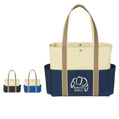Tri-Color Tote Bag Running Everyday, Boat Accessories, Beach Tote Bags, The Hamptons, Gym Bag, Color, Boating, Boats, Duffle Bags