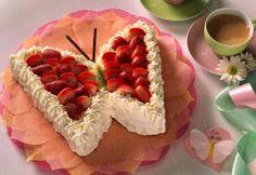 Schmetterlings-Torte Rezept