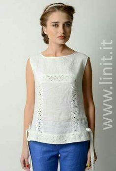 Sewing Blouses Shirt Blouses Shirts Fashion Outfits Womens Fashion Blouse Designs Blouses For Women Cotton Dresses Dress Patterns Sewing Clothes Women, Diy Clothes, Blouse Styles, Blouse Designs, Sewing Blouses, Modelos Fashion, Cute Outfits With Jeans, Fashion Sewing, Dress Patterns