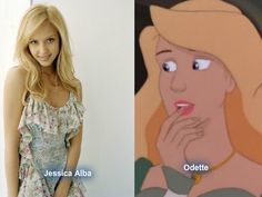 Real Odette from the Swan Princess by Marianux1999.deviantart.com on @deviantART