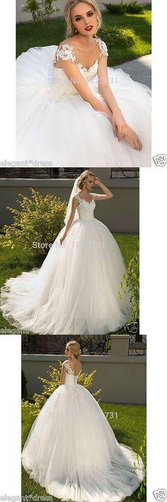 Wedding Dresses New White Ivory Dress Bridal Gown Custom Size 6 8