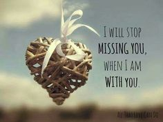 Love Quotes and thoughts about my soulmate : QUOTATION - Image : Quotes Of the day - Description I will stop missing you, when I am with you. Sharing is That's Love, Love Is All, Missing My Son, Miss You Mom, Losing A Child, Precious Children, My Soulmate, Grief, First Love