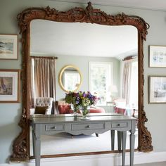 How to use a console table to add charm and interest