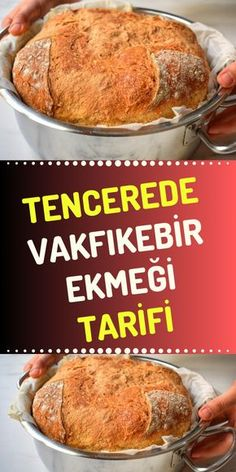 Vakfıkebir bread recipe in the pot Pizza Pastry, Bread Recipes, Cooking Recipes, Turkish Recipes, How To Make Bread, Food Preparation, Bread Baking, Breakfast Recipes, Brunch