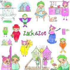 #childrensbook #illustration by #annamarlena Childrens Books, Anna, Comics, Illustration, Design, Children's Books, Children Books, Kid Books, Illustrations