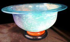 Art Glass Kosta Boda Bowl Signed Kosta Boda