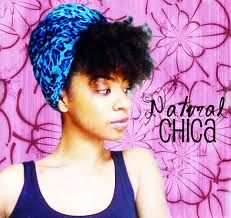natural hair with scarf