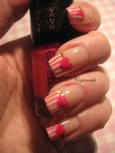 maybe an accent nail for valentine's day.