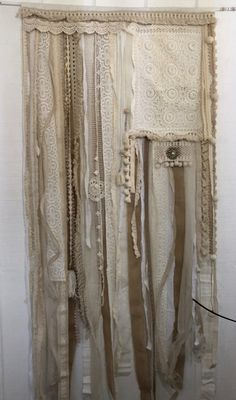 Ribbon Curtain, Home Curtains, Boho, Home Decor, Fabric Shower Curtains, Decoration Home, Room Decor, Bohemian, Home Interior Design