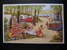 6 x Unused Belgium Old Vintage Transport Color Postcards c.1950...