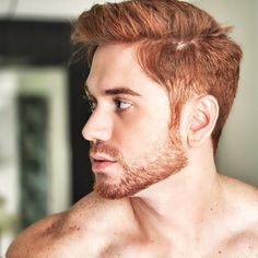 Copper Brown Hair Color for Men - Men's Style - Ginger Men, Ginger Beard, Ginger Hair, Copper Brown Hair, Red Hair Men, Mens Hair Colour, Redhead Men, Dip Dye Hair, Hair Color Techniques