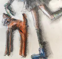 DRAWING artist Petra Mueller