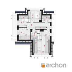 Dom w telimach 2 (G) Hamptons House, Home Decor Kitchen, Pergola, Floor Plans, House Design, Houses, Detached House, Outdoor Pergola, Architecture Design