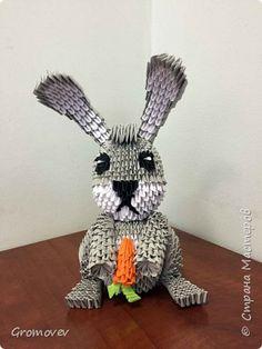 Заяц с моковкой фото 1