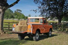 Landrover truck, when we have our farm in Tennessee!